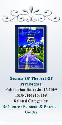 Inspirational Books: Secrets Od the Art Of Persistence